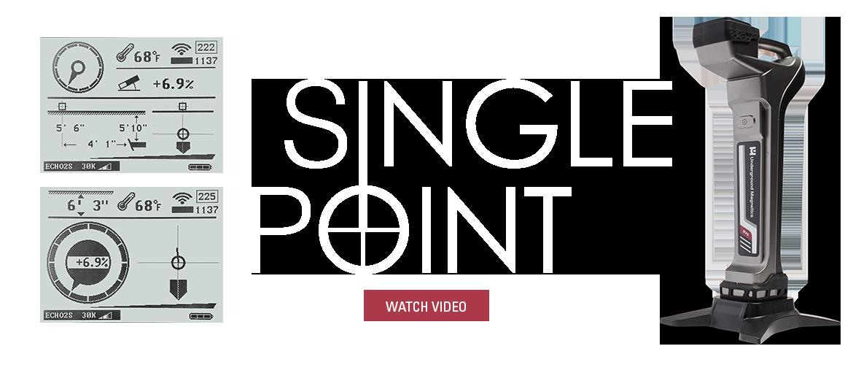 Single Point Underground Magnetic Locators